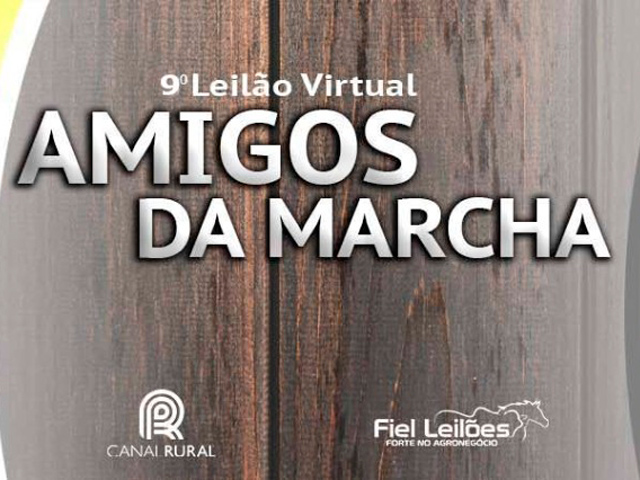 9º Leilão Virtual Amigos da Marcha