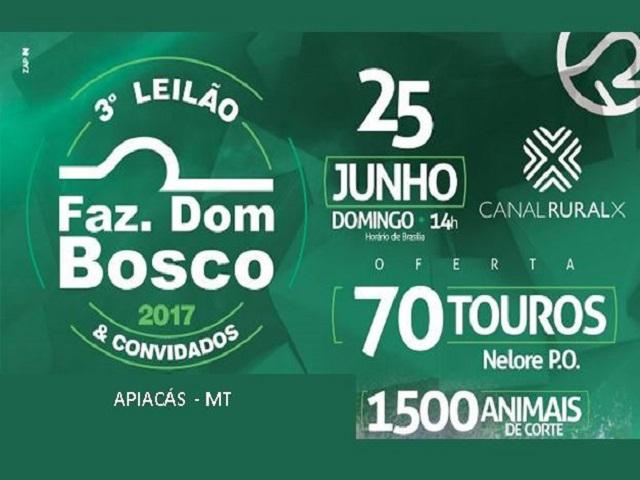 3º Leilão Fazenda Dom Bosco 2017 & Convidados