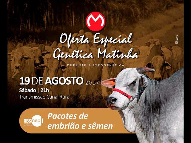 Oferta Especial Genética Matinha