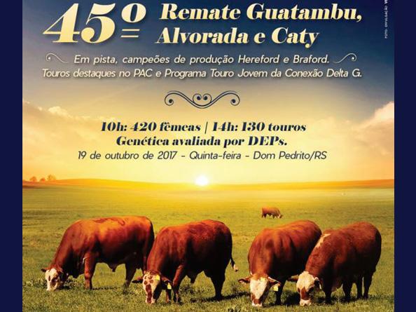 45º Remate Guatambu, Alvorada e Caty