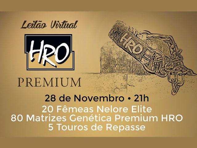 Leilão Virtual HRO Premium