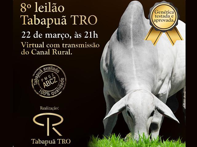 8º Leilão Virtual Tabapuã TRO