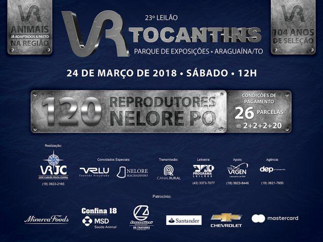 Leilão Touros VR Tocantins