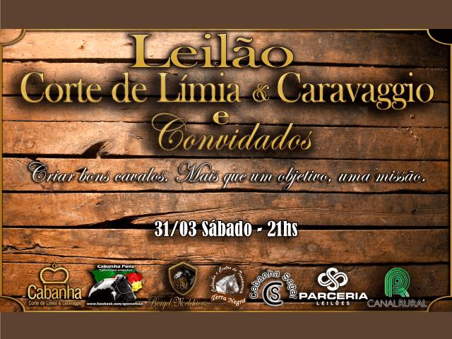 Leilão Corte de Límia & Caravaggio e Convidados