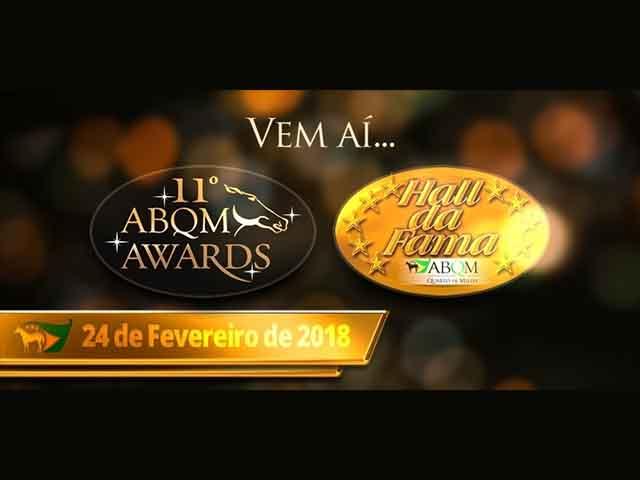 ABQM Awards e Hall da Fama 2018