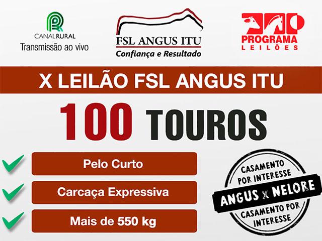 Leilão Virtual FSL Angus Itu