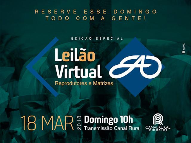 Leilão Virtual EAO