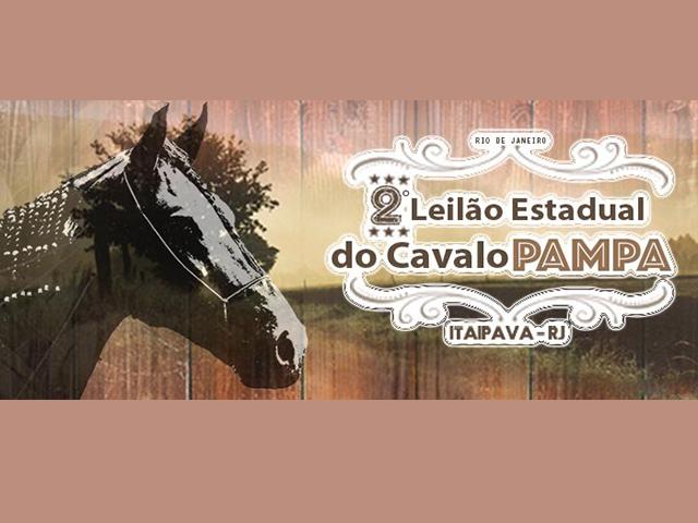 Leilão Estadual do Cavalo Pampa oferta 40 lotes