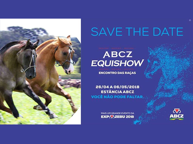ABCZ EquiShow cresce e ganha recinto próprio