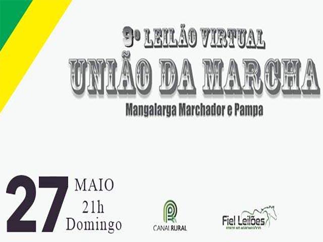 9º Leilão Virtual União da Marcha