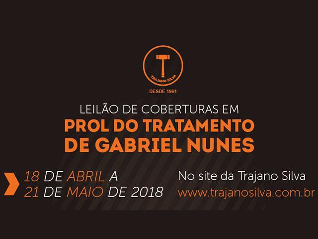 Leilão de Coberturas em Prol do Tratamento de Gabriel Nunes