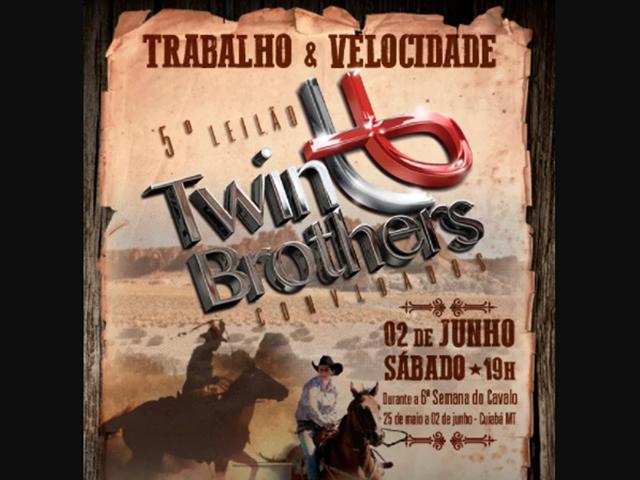 Trabalho & Velocidade – 5º Leilão Haras Twin Brothers e Convidados
