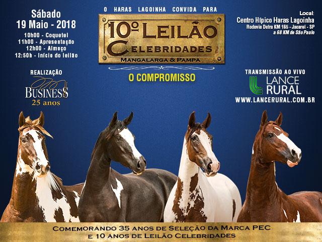 10º Leilão Celebridades Mangalarga & Pampa