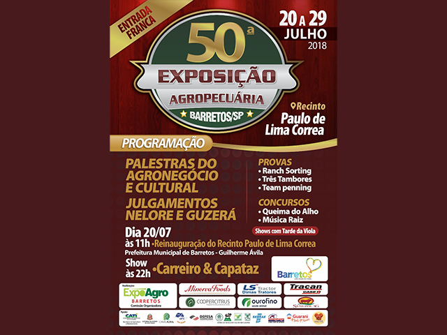 50ª Exposição Agropecuária de Barretos