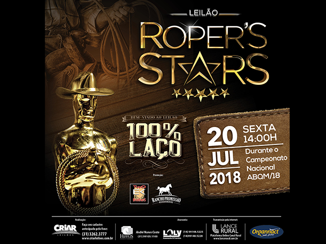 3º Leilão Roper's Stars