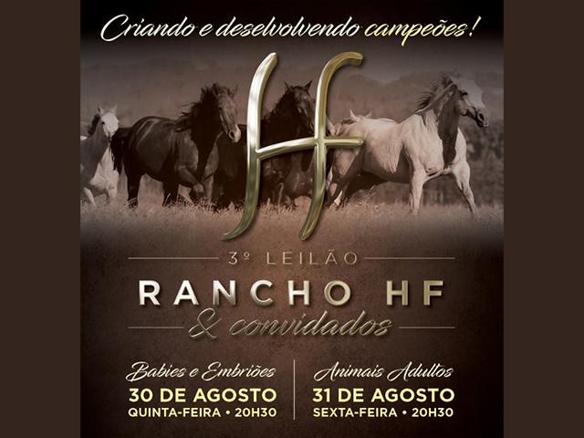II Leilão Seleção do Rancho HF & Convidados