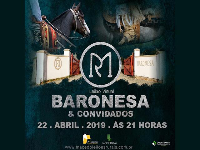 Leilão Estância da Baronesa & Convidados – Virtual