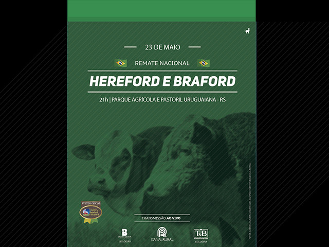 Remate Anual de Hereford e Braford