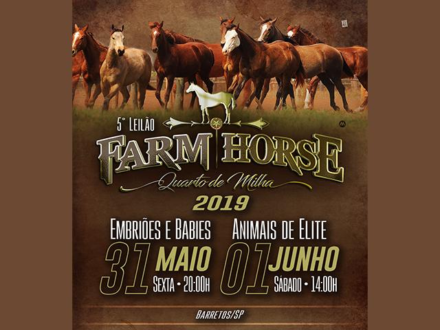 1° Leilão Farm Horse – Baby e Embriões