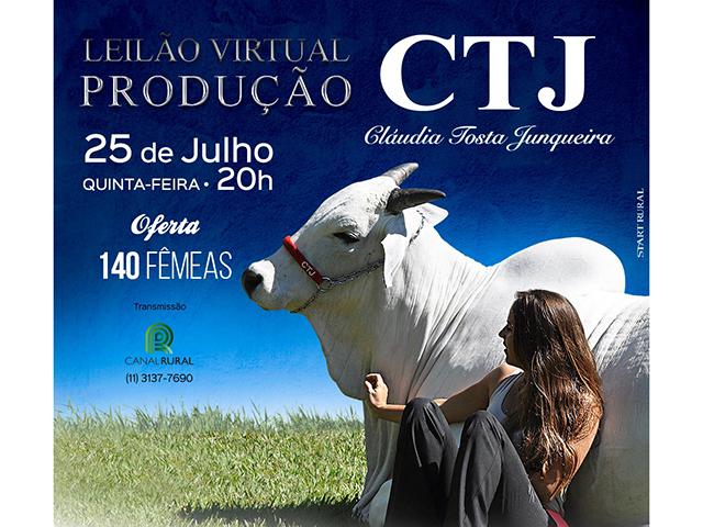 Leilão Virtual CTJ Matrizes e Reprodutores