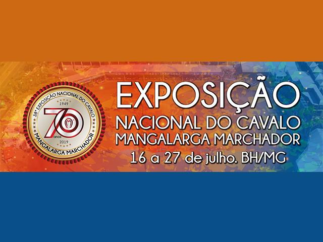 38º Exposição Nacional do Cavalo Mangalarga Marchador
