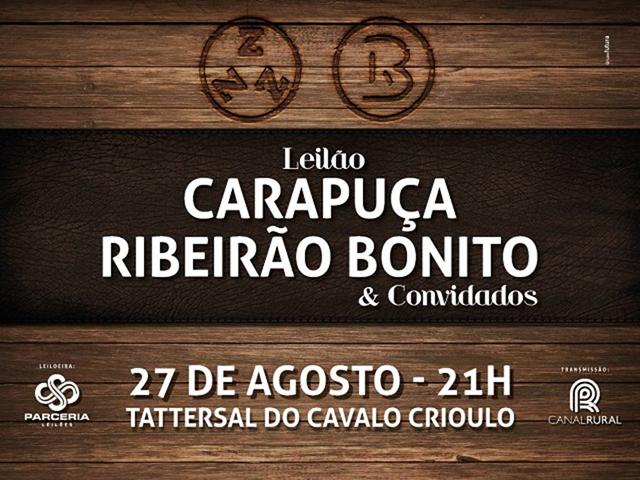 Leilão Carapuça, Ribeirão Bonito & Convidados