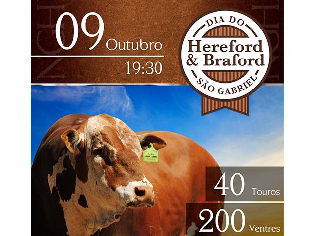 Dia do Hereford & Braford São Gabriel