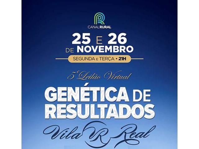 5° Leilão Virtual Genética de Resultados Vila Real
