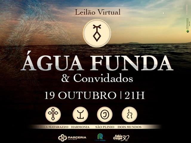 Leilão Virtual Água Funda & Convidados