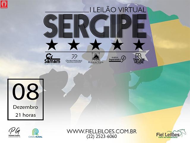 I Leilão Virtual Sergipe