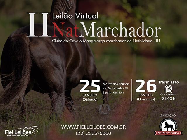 II Leilão Virtual Nat Marchador