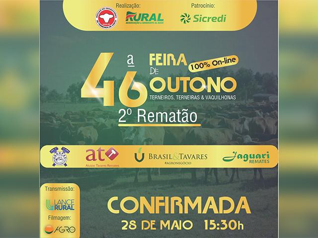 46ª Feira de Outono de Terneiros, Terneiras & Vaquilhonas - 2º Rematão